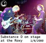 Substance D on stage at the Roxy - Photo: Brian May