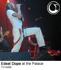 Edsel on stage at the Palace - Photo: Brian May